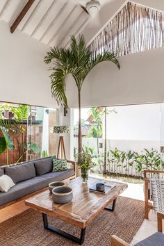 Modern Tropical House, Tropical Beach Houses, Tropical House Design, Tropical Interior, Tropical Home Decor, Tropical Furniture, Tropical Kitchen, Dream Beach Houses, Tropical Style
