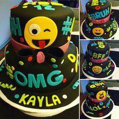 This is the cake my sister made my daughter Kayla for her 12th birthday!