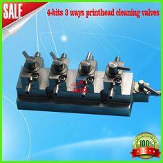 unidad de limpieza de la impresora solvente cabezal de impresion de limpieza maquinaria valvula para al aire libre (4 formas)