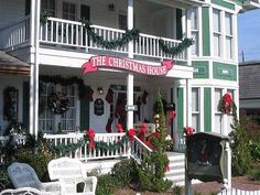 Christmas House in Southport, NC.  One of my favorite places to go every year!