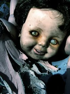 Once upon a time, he wasnt a creepy doll~he was someones best friend..