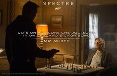 A warning to Bond from Mr White Spectre 2015, 007 Spectre, Daniel Graig, Daniel Craig James Bond, Best Bond, Christoph Waltz, James Bond Movies, Secret Service, Monica Bellucci
