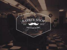 Barber Shop Logo by Ryan Booth, via Behance