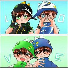 Galaxy Movie, Anime Galaxy, Boboiboy Galaxy, Boboiboy Anime, Anime Chibi, Pokemon Ash And Serena, Doraemon Wallpapers, Cute Art, Picture Video