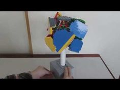 LEGO Rolling House レゴで回転ハウス - YouTube