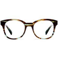 Warby Parker Mallory Eyeglasses ($95) via Polyvore