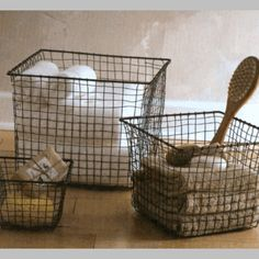 How to organize your bathroom.  These bins would be great for the linen closet too.