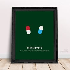 The Matrix Inspired Art, Minimalist Movie Poster, Creative Wall Art Home Office Decor, Wachowski Brothers, Birthday Christmas Gift Idea Art by PhinCreative on Etsy https://www.etsy.com/uk/listing/258079195/the-matrix-inspired-art-minimalist-movie