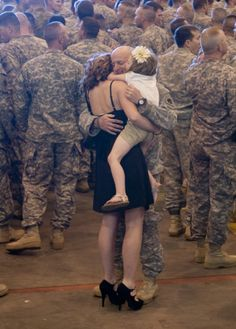 WELCOME HOME and THANK YOU for your service!! More than 170 members of the 45th Infantry Brigade Combat Team returned to Oklahoma, March 29, 2012, after spending more than eight months in Afghanistan. (DVIDS photo by Maj. Geoff Legler. Used with permission.)