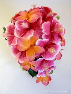 Hibiscus & Frangipani Bouquet