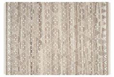 One Kings Lane - Durable Designs - Annie Flat-Weave Rug, Beige