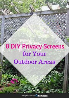 DIY Outdoor Privacy Screen Tutorial The Home Depot. Midalia Steel :: Shade Cloth Patio And Privacy Fence. Porch Privacy Screen, Diy Privacy Fence, Garden Privacy, Outdoor Privacy, Privacy Panels, Backyard Privacy, Outdoor Areas, Backyard Landscaping, Patio Fence