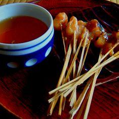 十文字屋(一和)@京都・今宮神社 あぶり餅。 京都に行けば必ずのように食す。美味い。 2005.10.01