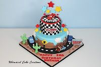Sams wants Cars for his bday and I totally love this cake- think its a winner!