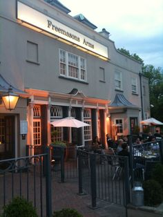 Located right next to Hampstead Heath, this is a great spot for a post-walk drink and bite to eat - The Freemasons Arms in Hampstead, Greater London