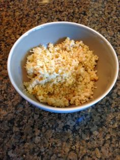 Recipe: Cauliflower Couscous ~ Trendy Mom Reviews #Recipes #Cauliflower #HeartHealthy