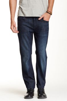 Standard Luxe Performance Straight Leg Jean