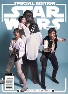 Get a first look at the special November issue of the official Star Wars magazine.