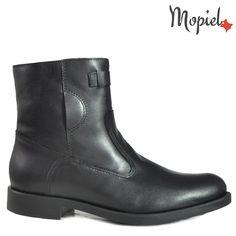Ghete barbati din piele naturala 118504/880/Negru/Carlo Chelsea Boots, Booty, Shoes, Fashion, Moda, Swag, Zapatos, Shoes Outlet
