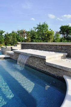 Rockwall Pool Design Dallas Photo Gallery Outdoor Living   Picture 41:  Glass Tile And Chip