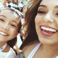 Bethany and a fan at Vicon 2015! (July 24th)
