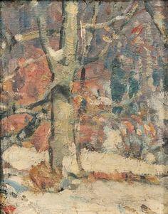 """Woodland Labyrinth John Fabian Carlson, oil on canvas board, 10 x 8 Garvey Rita Art & Antiques. American Impressionism, Impressionist, Painting Gallery, Art Gallery, Color Studies, Winter Landscape, Landscape Paintings, Oil On Canvas, Original Artwork"