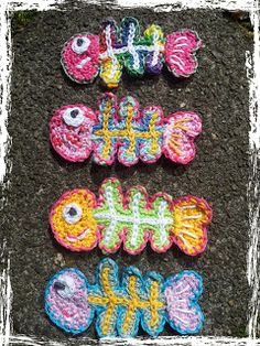 CROCHET SEA LIFE on Pinterest Crochet Fish, Crochet Appliques and F ...