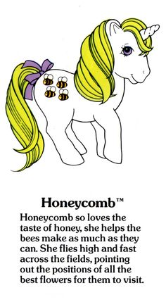 My Little Pony Honeycomb fact file ...