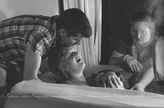 Sweet relief. Home birth story in photos.