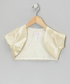 This Champagne Shrug - Toddler & Girls by Kid's Dream is perfect! #zulilyfinds