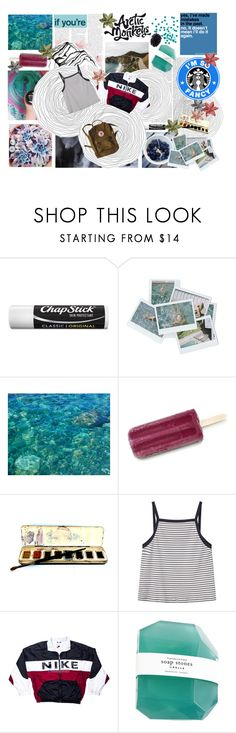 """""""Ripples of the rich rich water are beyond the beauty eyes love to see"""" by j-essx-f ❤ liked on Polyvore featuring Chapstick, WALL, MANGO and NIKE"""