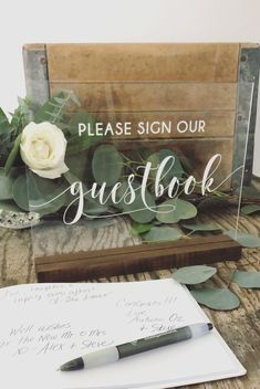 Please Sign Our Guestbook Acrylic Sign Guest Book Sign image 0 Guest Book Sign, Wedding Guest Book, Wedding Blog, Wedding Favors, Wedding Decorations, Wedding Day, Dream Wedding, Guest Books, Wedding Favor Table