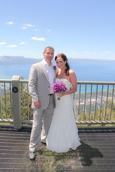 Not many views better than this for your wedding!    #laketahoeweddings #heavenlyresort #destinationweddings