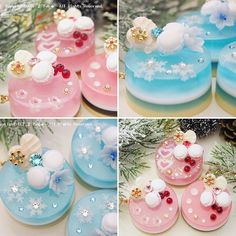 Lovely Creative Resins.  ❤ Polymer Project, Polymer Clay Crafts, Kawaii Jewelry, Cute Jewelry, Cute Crafts, Diy And Crafts, Resin Charms, Uv Resin, Mini Foods