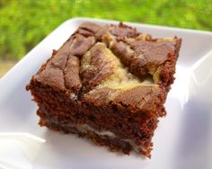 Earthquake Cake.....an upside down German Chocolate Cake with a cheesecake filling!!