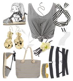"""""""Stripes.."""" by detroitgurlxx ❤ liked on Polyvore featuring Juvia, WithChic, Sole Society, Joie, Évocateur, Ippolita, Balenciaga and Andrea Fohrman"""
