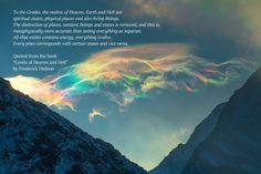Physics, Greek, Spirituality, Heaven, How To Remove, Quotes, Quotations, Sky, Heavens