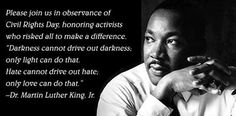 Monday, January 20, 2014  Civil Rights Day Martin Luther King, Jr. Day                                               #SmileOasis.com