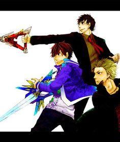 Kenji, Don Fudou and Shiranami