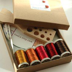 WIRE crochet pattern and starter kit
