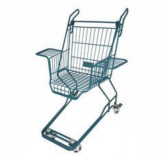 xavier degueldre shopping cart chairs designboom