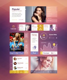 Music UI kit [by Mike | Creative Mints]