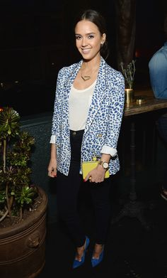 Jessica Alba Photos - Anthropologie Celebrates a Denim Story