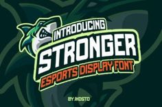 Stronger is a bold and simple display font. Simple and easy to use, this font will be very beautiful if...