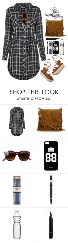 """""""24.09.16"""" by malenafashion27 ❤ liked on Polyvore featuring Rails, Stuart Weitzman, Yves Saint Laurent, LES (ART)ISTS, i am a, Montblanc and Dot & Bo"""