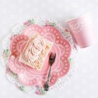 Lovely Lace Collection: Carnation Pink