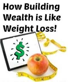 Building #wealth is a lot like weight loss! Learn the simple two-step process to solve your #money matters. Personal Finance tips, #finance
