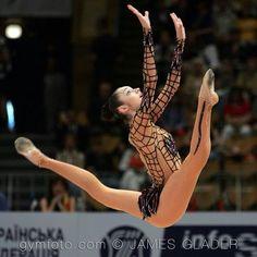 Anna Bessonova (Ukraine) #rhythmicgymnastics #ginnasticaritmica
