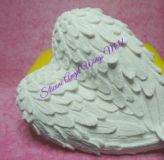 Fondant etc Angel Face /& Wings Silicone Cake Topper Mould Ideal for Chocolate