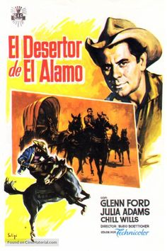 The Man from the Alamo Spanish movie poster